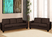 #80713 Cass 3pcs Sofa Set
