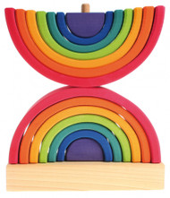 Grimm's Double Rainbow Stacking Tower