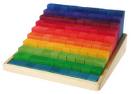 Grimm's Wooden Small Stepped Counting Blocks