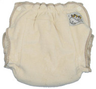 Sandy's Organic Cotton Fitted Diaper by Mother-Ease