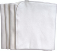 Organic Cotton Burp Cloths (Pack of 4)