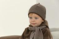 Disana Organic Merino Wool Knitted Melange Hat
