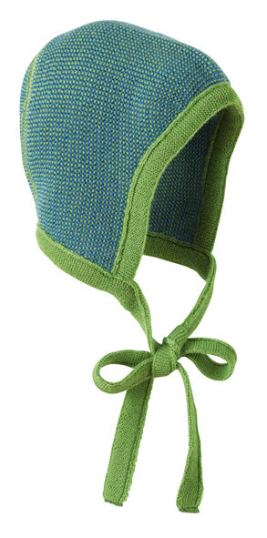 3abf16cae0d Disana Organic Merino Wool Knitted Melange Bonnet - Little Spruce ...