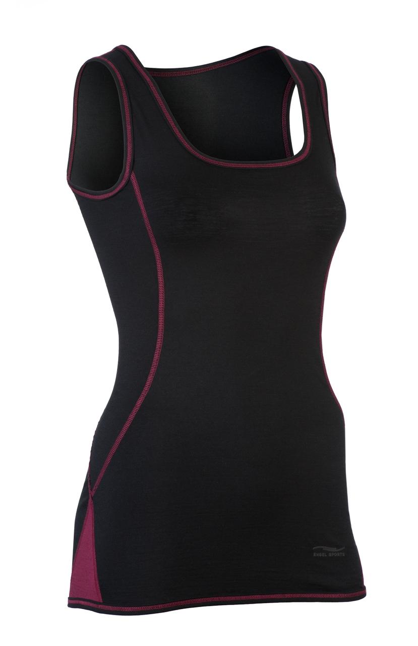 d208ddd5a6f Organic Wool  Silk Women s Tank Top. Your Price   49.88 (You save  23.62).  black  tango red