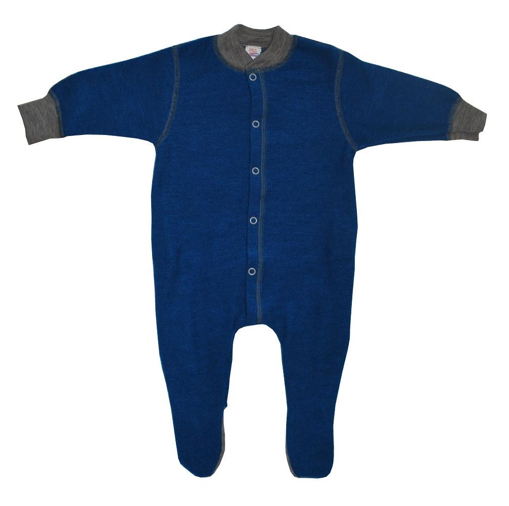 4514fe0ec Engel Organic Wool Terry Footed Pajamas