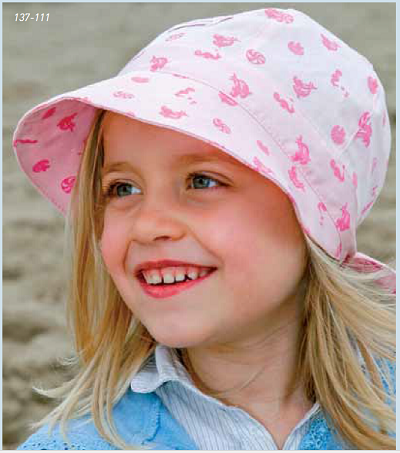 Organic Cotton Sun Bonnet by Pickapooh -