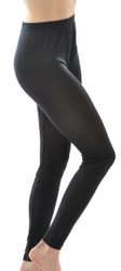 Organic Silk Jersey Leggings for Women