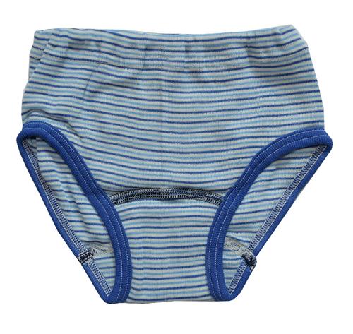 blue/ navy/ natural stripes