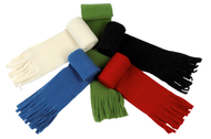 Organic Wool Fleece Scarf for Adults