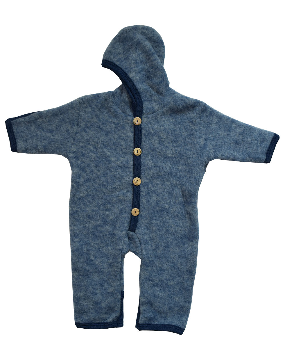 735452a53231 Organic Wool Fleece Baby Outdoor Suit - Little Spruce Organics