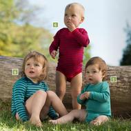 Engel Organic Wool/ Silk Baby Bodysuit _