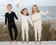Ruskovilla Organic Wool/Silk Long Underwear Shirt for Children