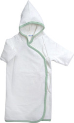 Under the Nile Organic Cotton Hooded Kimono Baby Towel