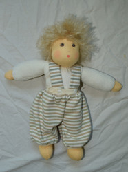 Organic Cotton Waldorf Doll | Clara Natural