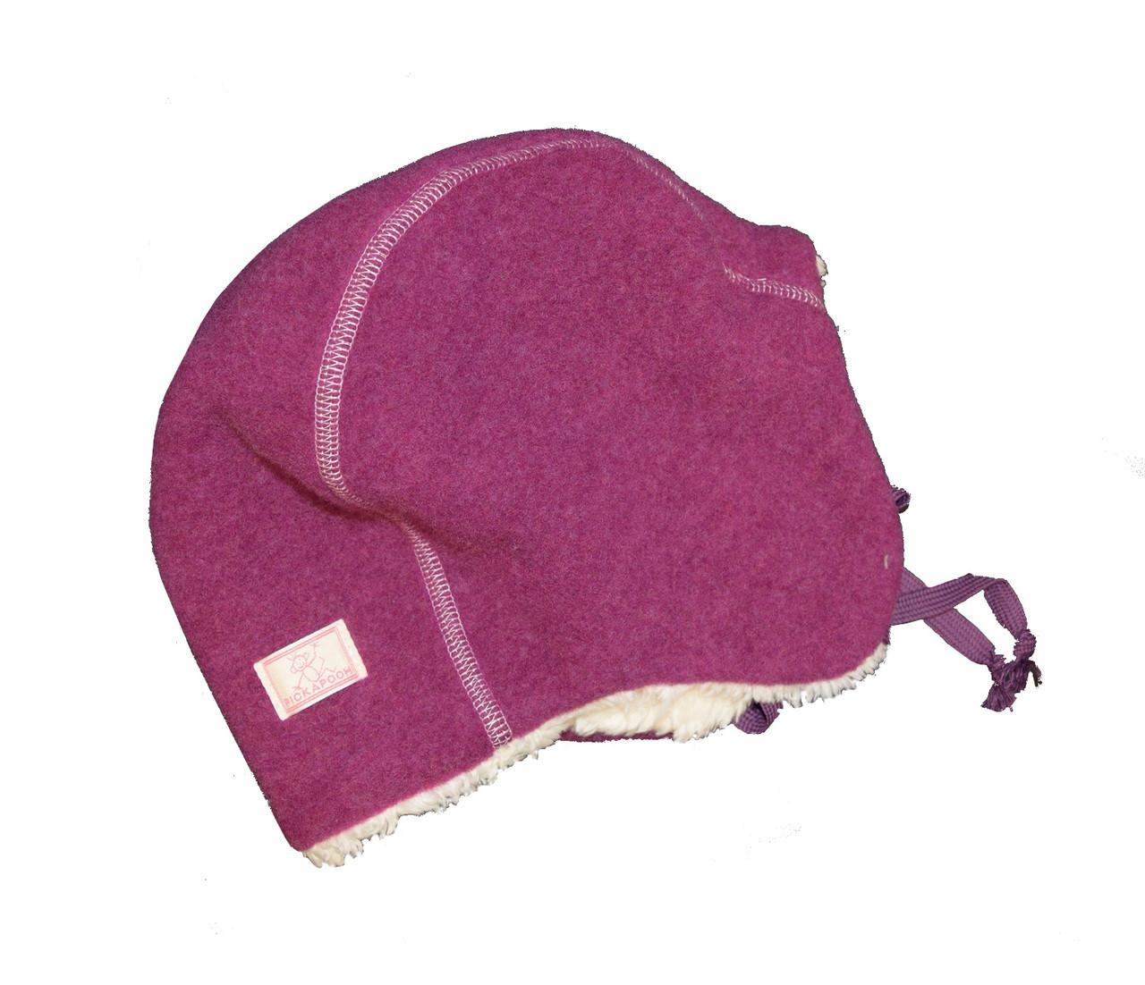 6ac4f0da3f2 Organic Wool Fleece Winter Hat