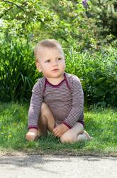 Organic Merino Wool/Silk Baby Bodysuit | Engel