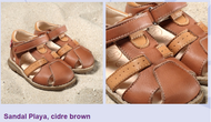 "Natural Leather Sandal | Pololo ""Playa"""