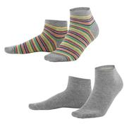 Rainbow / Grey Melange