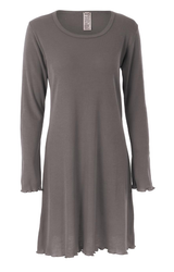 Long Sleeve Nightgown | Organic Merino Wool / Silk