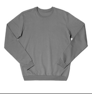 Long Sleeve Sweatshirt Size S  |  Organic Cotton
