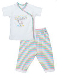 "Layette Set | Under the Nile ""baby birds"""