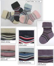Organic Cotton Baby Socks   Grodo 12565