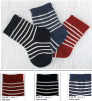 Organic Cotton Baby Socks   Grodo 12621