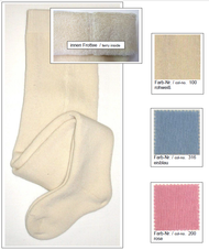 Organic Cotton Baby Tights   Grodo 72308