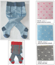 Organic Cotton Tights for Babies | Grodo 72723