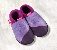 "Soft Soled Indoor Slippers | Natural Leather  ""Rosalie"""