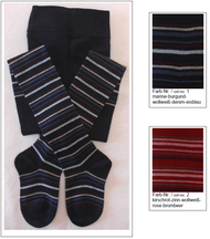 Organic Wool Cotton Kids' Tights | Grodo 74071