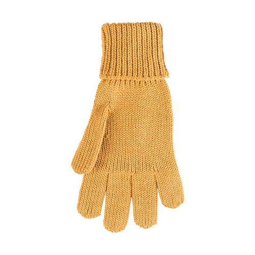 Kids Organic Wool Cotton Silk Gloves Color: 081 honey