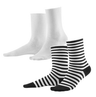 Organic Cotton Women Socks 2 pack