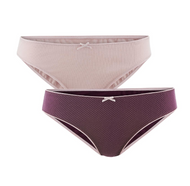 Women's Briefs |  Organic Cotton, 2 pack