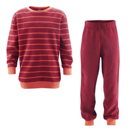 Organic Cotton Terry Shirt and Pants Set for Children
