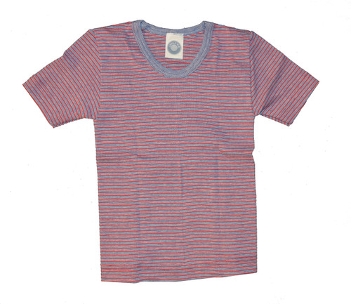 Navy/ Natural/ Red Stripes