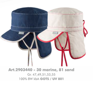 Organic Cotton Summer Hat | PurePure 2903440