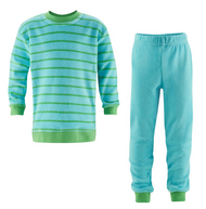 Organic Cotton Terry Shirt & Pants Set for Children 8348