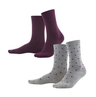 Organic Cotton Socks 2 pack | Living Crafts 378