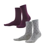 Organic Cotton Socks 2 pack | Living Crafts 378