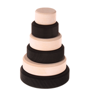 Grimm's Wooden Small Conical Tower, monochrome
