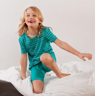 Organic Cotton Shirt and Shorts Set | Living Crafts  8346