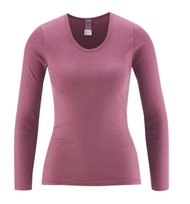 Women's Organic Cotton Long Sleeved Shirt | Living Crafts 4359