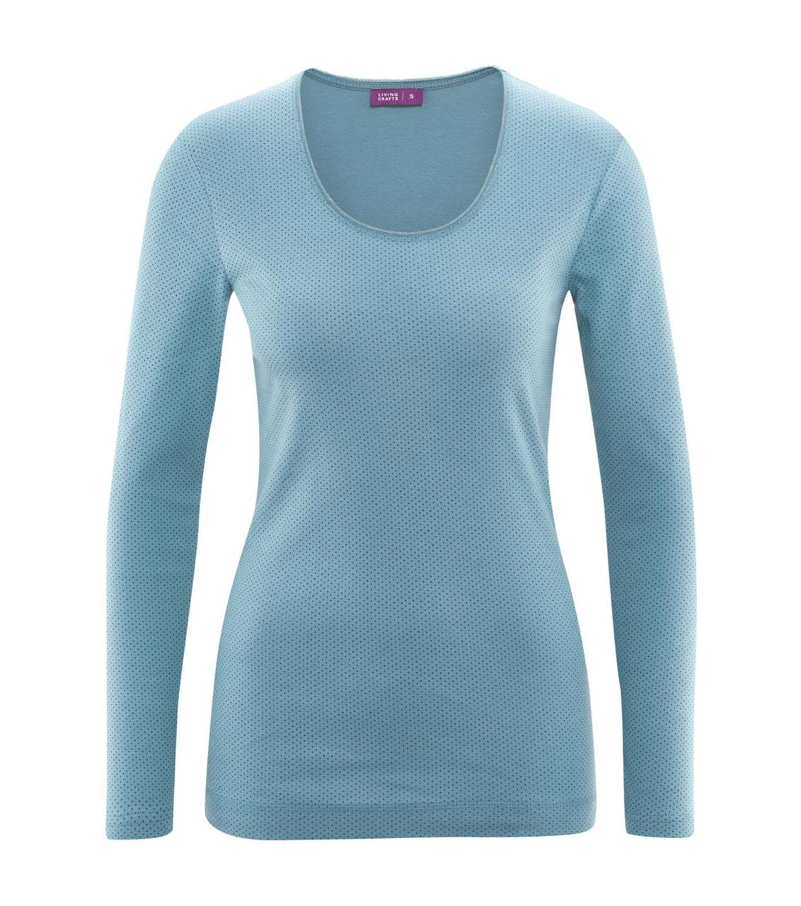 443d1598f3 Organic cotton Sleep Shirt Color  Cloud Dots