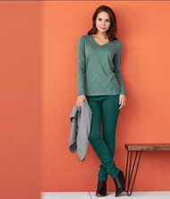 Treggings Organic Cotton Color: 557 forest