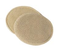 1 Pad Organic Wool; 1 Pad Bourette Silk