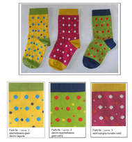 Organic Cotton Kids' Socks | Grodo 12829