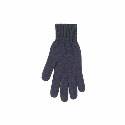 Man Organic Wool Gloves Color: 99 black