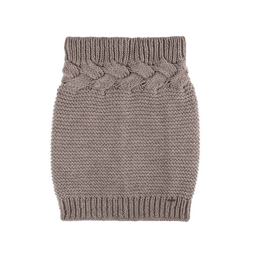 Organic Marino Wool Neck Warmer Color: 85 kaschmir