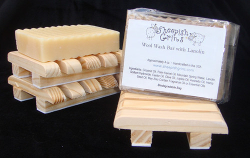 Wool Wash Bar with 40% Pure Lanolin